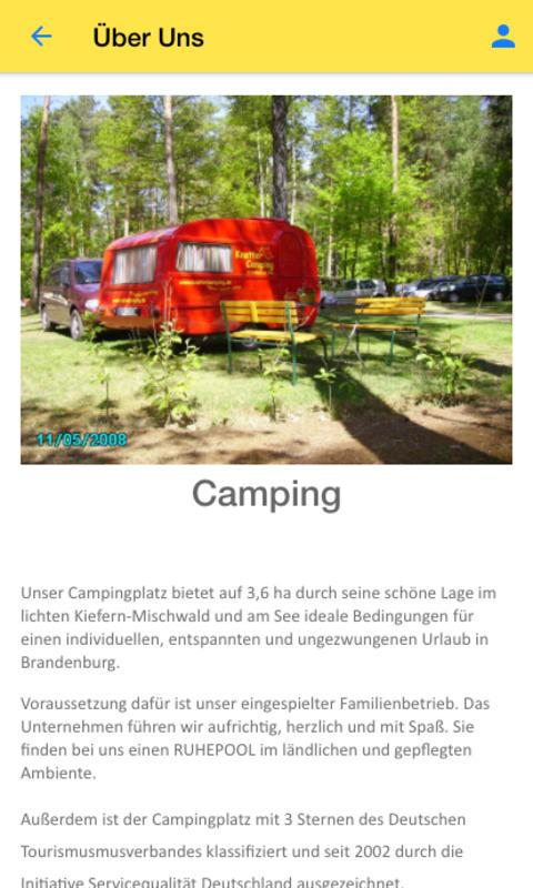 KnatterCamping – Screenshot