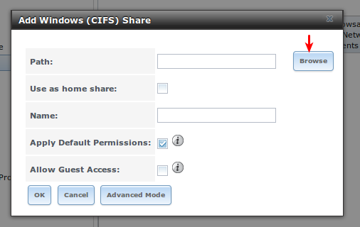 FreeNAS - Create A CIFS Share | Programster's Blog