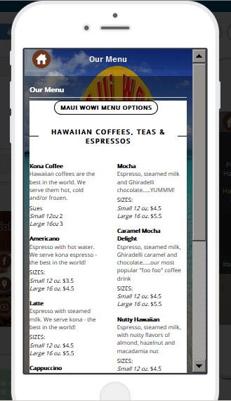 Maui Wowi DC- screenshot