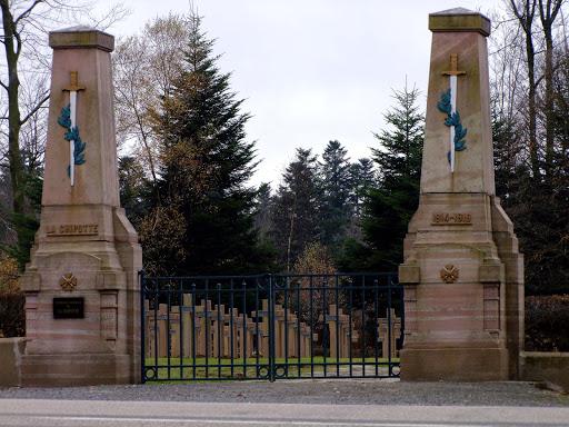 Nécropole de Saint Benoit la Chipotte