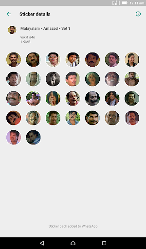 Malayalam Stickers for WhatsApp - WAStickerApps screenshot 3