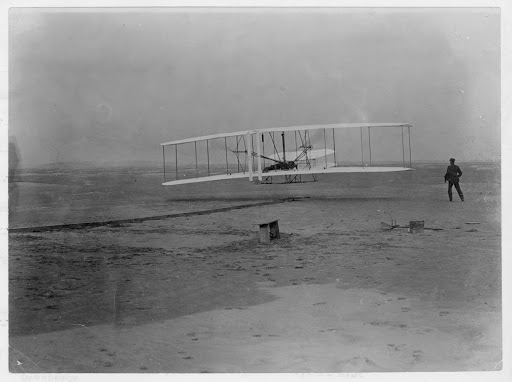 Wright Flyer at Kitty Hawk