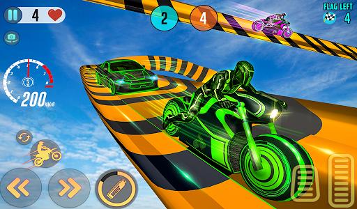 Mega Ramp Light Bike Stunts: New Bike Racing Games 2.0.0 screenshots 17