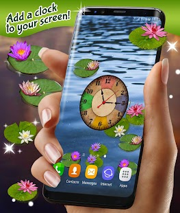 Water Lily Live Wallpaper - náhled