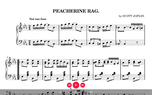 Sheet Music- screenshot thumbnail
