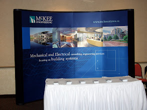 Photo: A fine booth by McKee Engineering