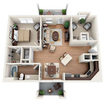 Go to The Chapman Floorplan page.