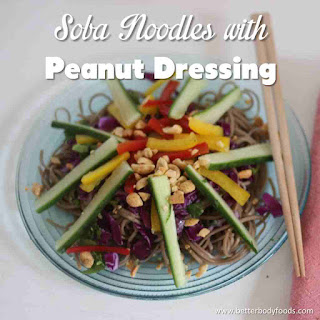 Soba Noodles with PB Dressing