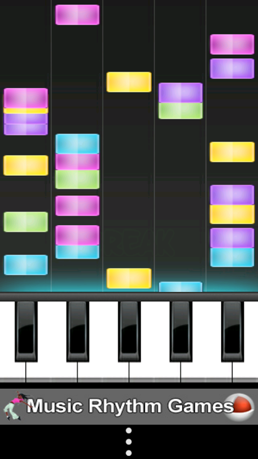 Music Rhythm Game- screenshot