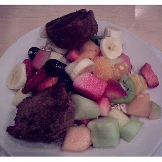 Healthy Fruit Muffins
