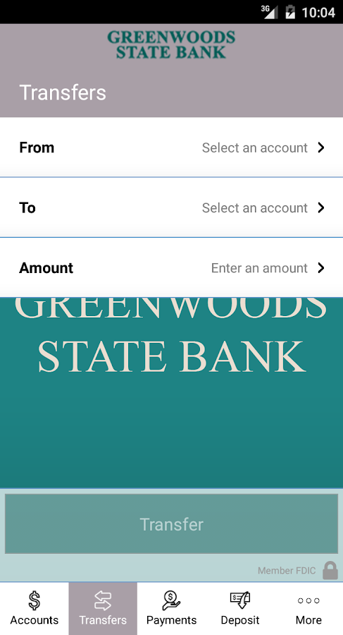 Greenwoods State Bank  (GSB)- screenshot