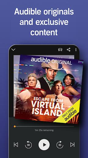 Audible Audiobooks: Stories & Audio Entertainment apktram screenshots 3
