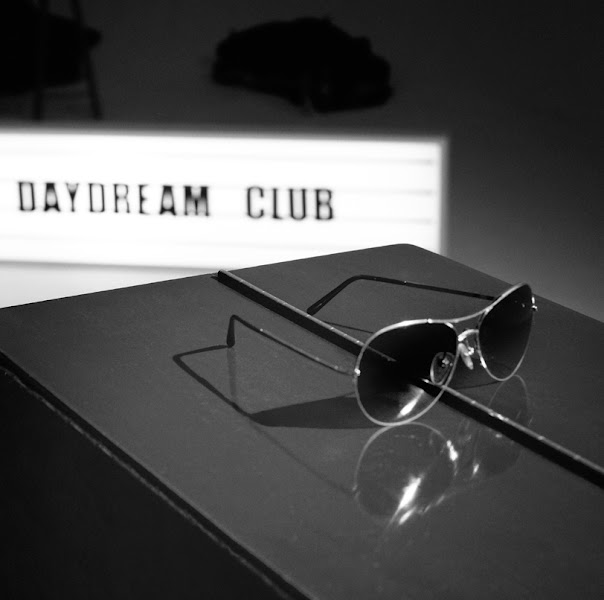 Photo: Burberry presents British band The Daydream Club wearing aviator sunglasses from the Spring/Summer 2012 eyewear collection