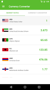 free currency converter Screenshot