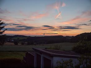 Photo: Ons dagelijks uitzicht op de zonsondergang
