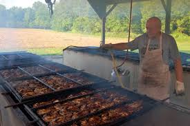 Image result for grandpa cooking barbecue chicken