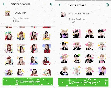WAStickerApps Korean Idol Sticker for WhatsApp Download For Android 5