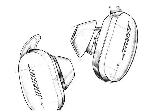 Bose noise-cancelling earbuds.
