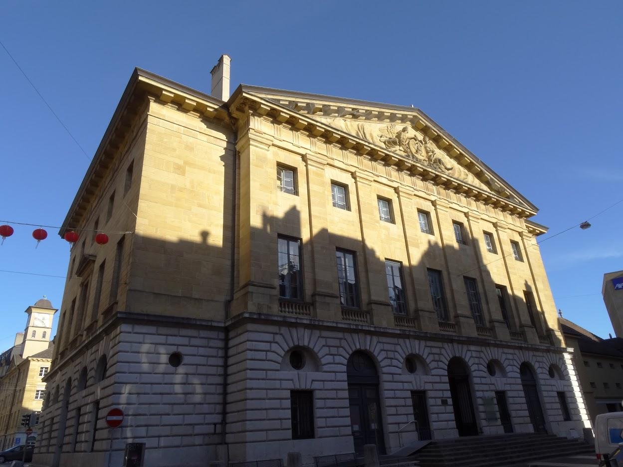 Hôtel de ville à Neuchâtel