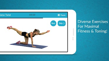 Women Workout: Home Gym Cardio - screenshot thumbnail 07