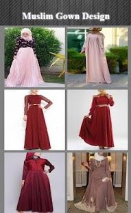 Muslim šaty design - náhled