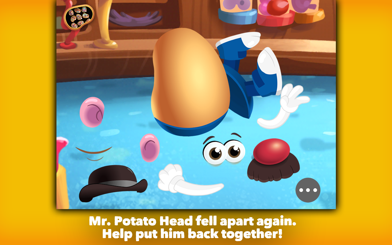 Mr. Potato Head: School Rush- screenshot