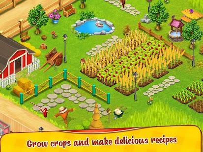Cafe Farm Simulator - Kitchen Cooking Game Screenshot