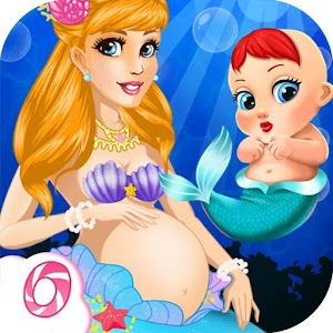 Mermaid Mommy's New Baby-Care for PC and MAC