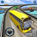 OffRoad Tourist Coach Bus Simulator:Free Bus Games icon