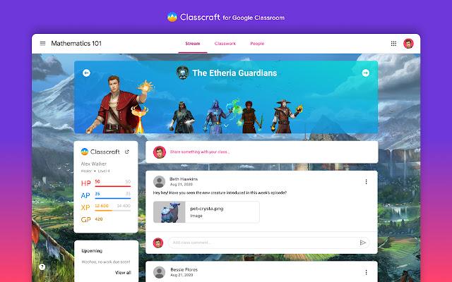 Classcraft for Google Classroom
