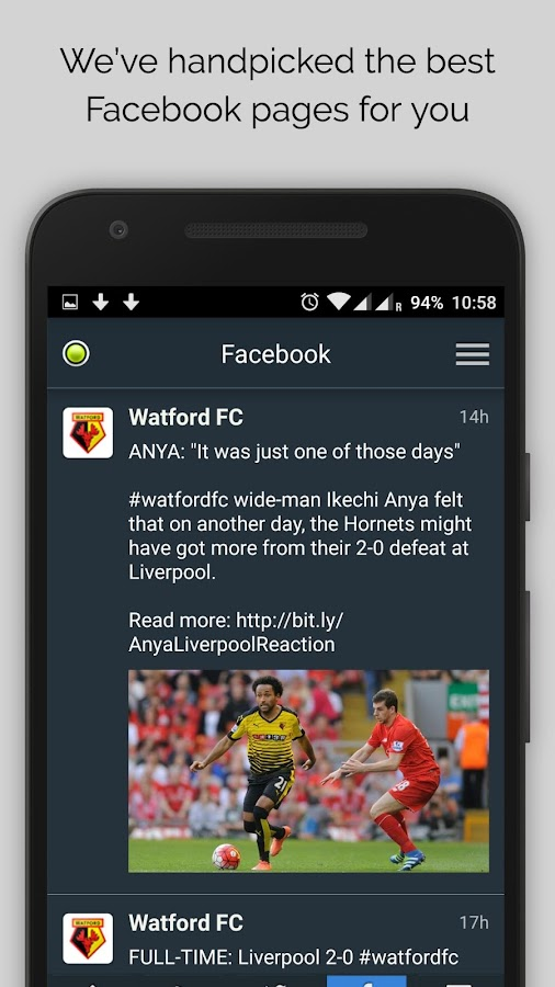 Watford News- screenshot