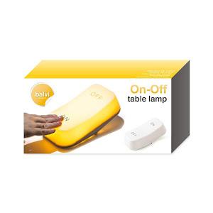 Set 2 x Lampa de masa ON-OFF cu lumina LED
