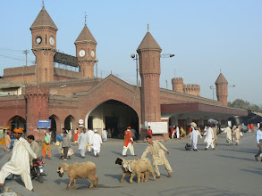 Photo: 12. Lahore, Railway Station