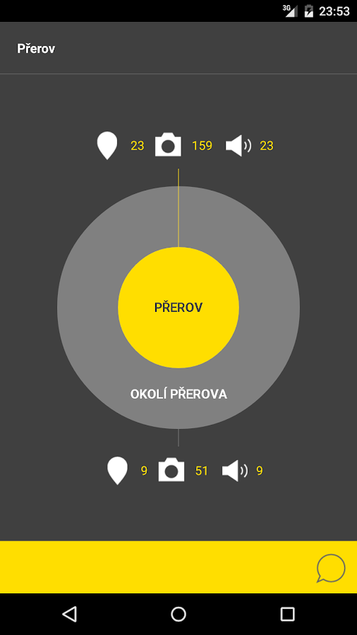 Přerov - audio tour- screenshot