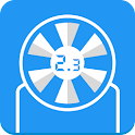 Wind Speed Meter anemometer icon