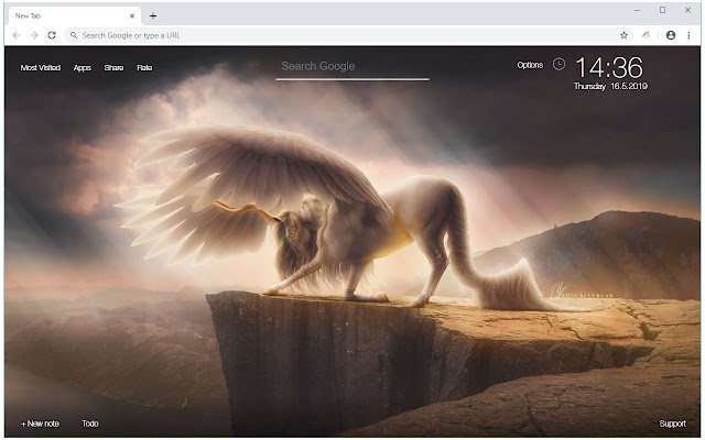 Unicorn Wallpaper HD Magic Horse Fairy Themes