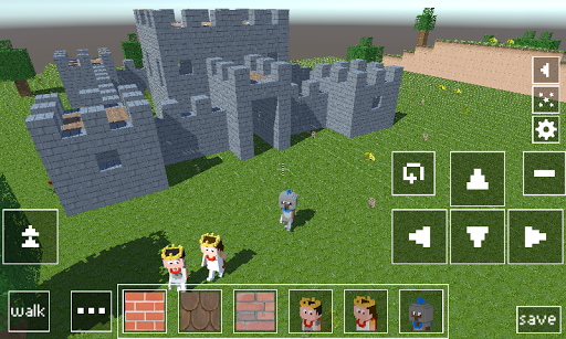 Castle Craft: Knight and Princess apkpoly screenshots 3