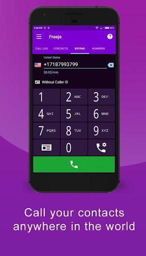 Freeje Virtual SIM - International Business Number 2.1.1.116 screenshots 1