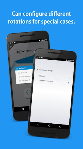 Rotation Control Pro app for Android screenshot