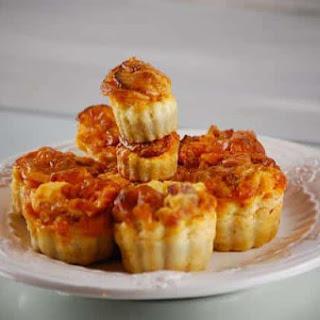Chorizo Fluted Cakes.