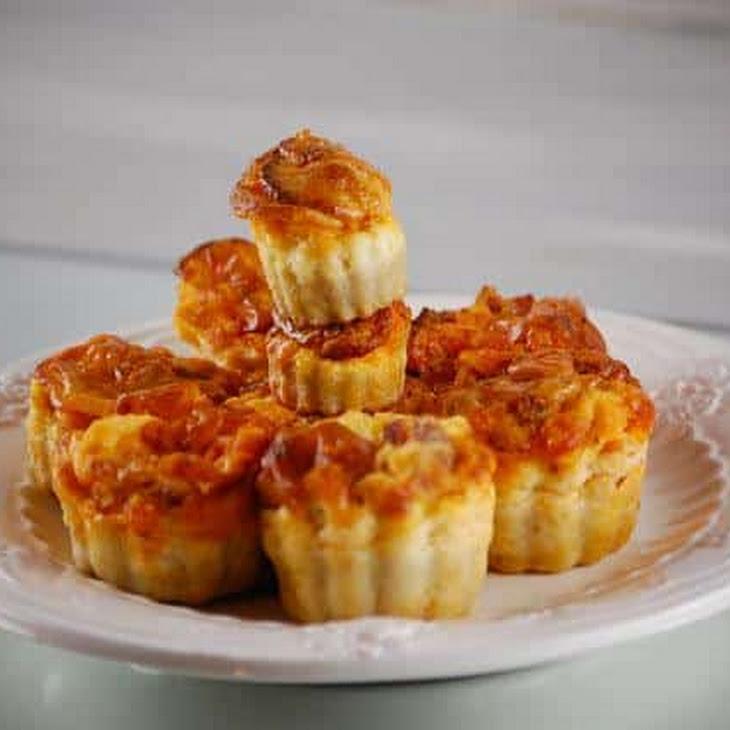 Chorizo Fluted Cakes