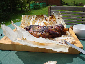Photo: Lamb ready for serving