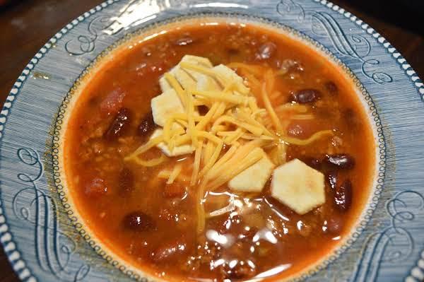 Tasty Tex-mex Style Chili