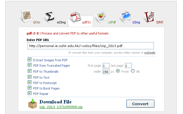 Document and Image Converter Toolbox