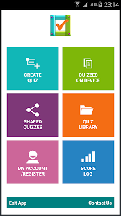 Quiz Library (Create & Share)- screenshot thumbnail