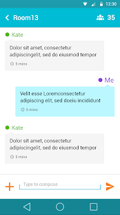 Nearby Chat- screenshot thumbnail