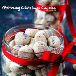 Meltaway Christmas Cookies.