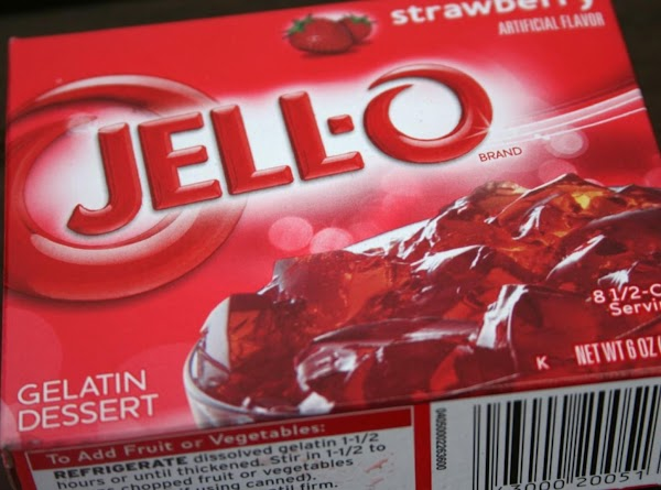 Prepare gelatin according to package directions. DO NOT put in fridge to cool. Stir...