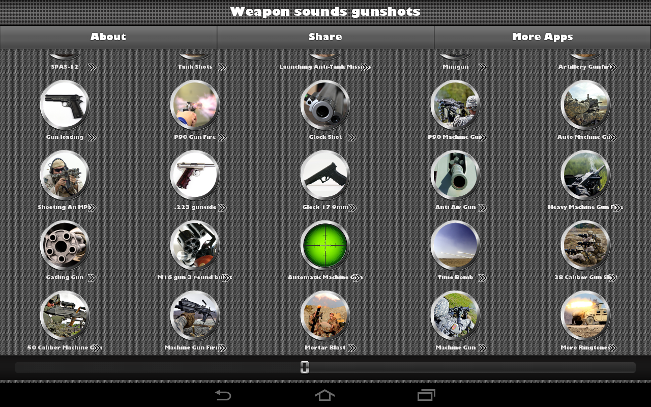 Weapon Sounds Gunshots- screenshot