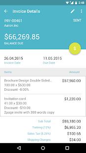 Zoho Invoice and Time Tracking - screenshot thumbnail